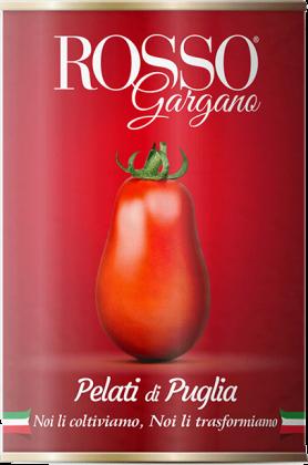 Rosso Gargano Pomodori Pelati di Puglia 400g Dosentomaten