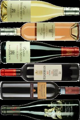 Set 1 - digitale Weinprobe am 7.5.2021 um 19:30h (0,375l-Flaschen)