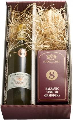 Geschenkset Balsamicoessig & Olivenöl